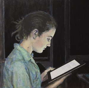 The-Reader-24x24-Acrylic-on-Canvas_M
