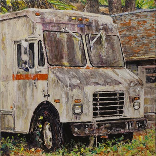 Truck 24x24 Acrylic on Canvas