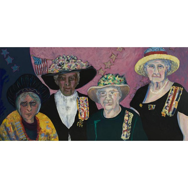 Daughters of the American Revolution 24x48 Oil on Canvas
